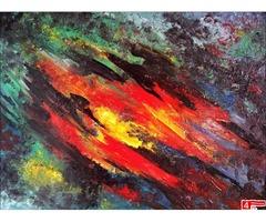 Sprzedam obraz olejny 100cm x 70cm