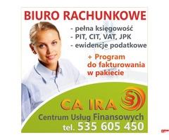 Biuro rachunkowe - usługi księgowe