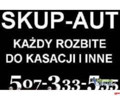 Skup Aut warszawa kazda toyota i inne 507333555