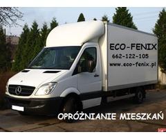Opróżnianie mieszkań Warszawa 662-122-105 eco-fenix