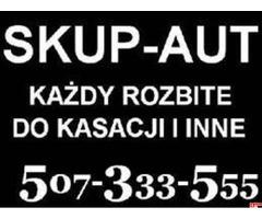 SKUP AUT WARSZAWA KAŻDY STAN I MARKA 507-333-555 GOTÓWKA