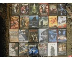 Sprzedam 400 filmów DVD