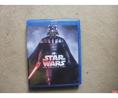 Sprzedam saga Star Wars BLU-RAY 1-6 odcinki