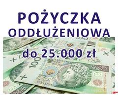 POŻYCZKA do 25.000 zł dla zadłużonych, konsolidacja!