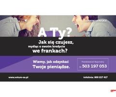 Pomoc w odzyskiwaniu ODSZKODOWAŃ-wypadki, kredyty FRANKOWE, szkody...