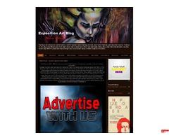 Exposition Art Blog - Reklama na Blogu