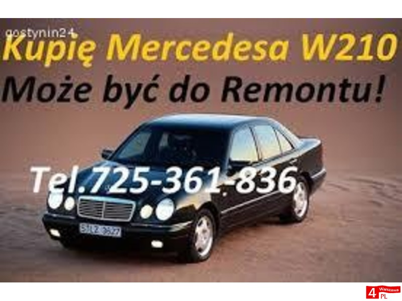 Kupię każdego Mercedesa W210 124