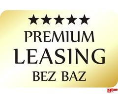 Premium LEASING bez baz do 100%
