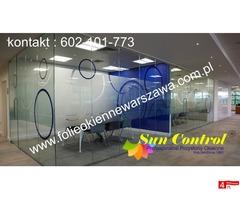 Folie okienne dekoracyjne montaż Warszawa