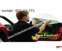 Folia do przyciemniania szyb samochodowych